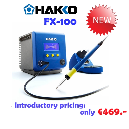 Introductory pricing for Hakko FX-100
