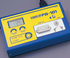 FG-101 thermometer and soldering tester