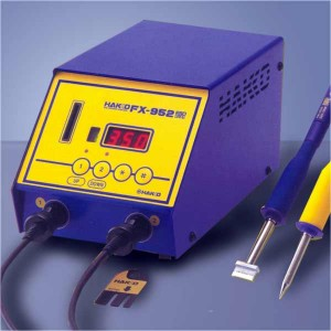 FX-952 simultaneous dual handpiece soldering station
