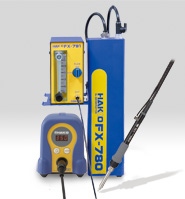 Nitrogen set-up with Hakko FX-888D and FX-8802 handpiece