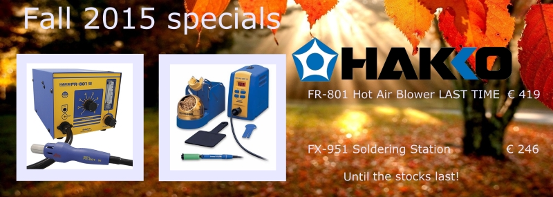 Hakko Special Offer Fall 2015